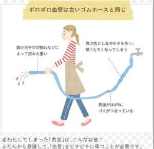 ボロボロ血管