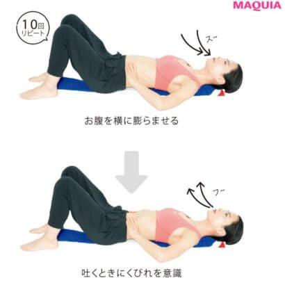 横隔膜呼吸で痩せ体質に
