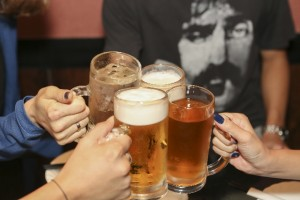 長期の飲酒