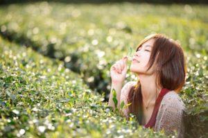 鼻呼吸で美肌効果