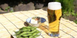 ビールの飲み方