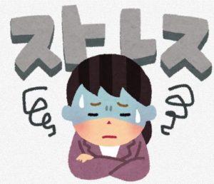過度のストレス