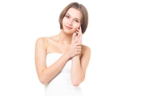 肌つまみ美容健康法